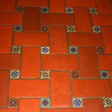 Mediterranean Wall And Floor Tile by Steven Alvarez General Contractor
