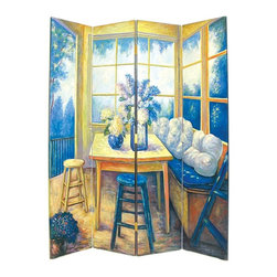 Wayborn Home Furnishing - Wayborn The Den Room Divider Screen Multicolor - 2272 - Shop for Arbors and Trellises from Hayneedle.com! About WaybornWayborn Furniture & Accessories Inc. is a leading importer and wholesaler of decorative home accessories located in City Of Industry Calif. In the early years the foundation of Wayborn's business was selling cormandel screens and black lacquer cabinets. Since then it has expanded its line to fulfill the needs of the ever-changing home furnishings trend. Its products are handmade from natural arts and artifacts and are manufactured and imported from China. Wayborn is committed to providing superior service to retailers while maximizing the value of the products it supplies.