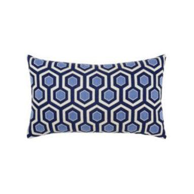 """New Elaine Smith Pillows - Buenos Aires Mar de Plata - 12"""" x 20"""" Elaine Smith Pillows"""