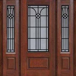 """Prehung Side lights Door 80 Fiberglass Cantania 3/4 Lite GBG Glass - SKU#MCR082WCA_DF34CAG1-2BrandGlassCraftDoor TypeExteriorManufacturer Collection3/4 Lite Entry DoorsDoor ModelCantaniaDoor MaterialFiberglassWoodgrainVeneerPrice4060Door Size Options32"""" + 2( 14"""")[5'-0""""]  $032"""" + 2( 12"""")[4'-8""""]  $036"""" + 2( 14"""")[5'-4""""]  $036"""" + 2( 12"""")[5'-0""""]  $0Core TypeDoor StyleDoor Lite Style3/4 LiteDoor Panel Style1 PanelHome Style MatchingDoor ConstructionPrehanging OptionsPrehungPrehung ConfigurationDoor with Two SidelitesDoor Thickness (Inches)1.75Glass Thickness (Inches)Glass TypeDouble GlazedGlass CamingGlass FeaturesTempered glassGlass StyleGlass TextureGlass ObscurityDoor FeaturesDoor ApprovalsTCEQ , Wind-load Rated , AMD , NFRC-IG , IRC , NFRC-Safety GlassDoor FinishesDoor AccessoriesWeight (lbs)527Crating Size25"""" (w)x 108"""" (l)x 52"""" (h)Lead TimeSlab Doors: 7 Business DaysPrehung:14 Business DaysPrefinished, PreHung:21 Business DaysWarrantyFive (5) years limited warranty for the Fiberglass FinishThree (3) years limited warranty for MasterGrain Door Panel"""