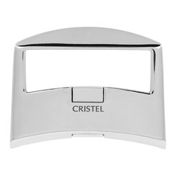 Frontgate - Cristel Casteline Helper Handle - Combining elegance and practicality, this removable-handle with contrasting shiny/mat surfaces, made entirely of stainless steel, fits in perfectly with today's kitchens. Fits any Casteline removable handle piece.