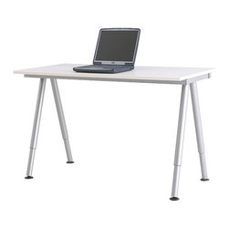 Olle Lundberg/IKEA of Sweden - GALANT Desk - Desk, white, silver color