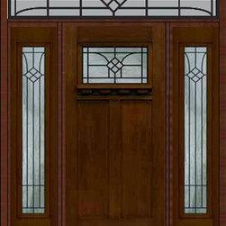 "Prehung Sidelights-Transom Door 80 Fiberglass Cantania Craftsman - SKU#MFC63DCWCA_DFCRCA1-2RCBrandGlassCraftDoor TypeExteriorManufacturer CollectionCraftsman DoorsDoor ModelCantaniaDoor MaterialFiberglassWoodgrainVeneerPrice6000Door Size Options36"" + 2( 14"")[5'-4""]  $036"" + 2( 12"")[5'-0""]  $0Core TypeDoor StyleCraftsmanDoor Lite StyleDoor Panel Style2 PanelHome Style MatchingCraftsmanDoor ConstructionPrehanging OptionsPrehungPrehung ConfigurationDoor with Two Sidelites and Rectangular TransomDoor Thickness (Inches)1.75Glass Thickness (Inches)Glass TypeDouble GlazedGlass CamingGlass FeaturesTempered glassGlass StyleGlass TextureGlass ObscurityDoor FeaturesDoor ApprovalsEnergy Star , TCEQ , Wind-load Rated , AMD , NFRC-IG , IRC , NFRC-Safety GlassDoor FinishesDoor AccessoriesWeight (lbs)663Crating Size36"" (w)x 108"" (l)x 89"" (h)Lead TimeSlab Doors: 7 Business DaysPrehung:14 Business DaysPrefinished, PreHung:21 Business DaysWarrantyFive (5) years limited warranty for the Fiberglass FinishThree (3) years limited warranty for MasterGrain Door Panel"