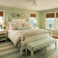 Beach Style Bedroom by Decorating Den Interiors- Corporate Headquarters