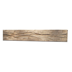 "Punky Hill - Distressed Fireplace Mantle, 60"", Without Ledge (6""x6""), Plain - Punky Hill Distressed Mantles are full of age and character.  All sizes are available from the basic 6"" x 6"" to the 6"" x 6"" with a 3"" x 7"" ledge."