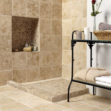 mediterranean showers by Country Floors