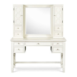 Magnussen Home Furnishings - Desk with Vanity Mirror -
