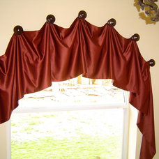 Traditional Curtains by Designs By Jacqueline