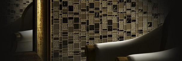 Modern Mosaic Tile by American Tile and Stone/Backsplashtogo