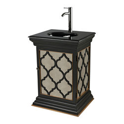 Sterling Industries - Sterling Industries 88-9013 Mirrored Vanity Unit w/ Moorsih Pattern - Vanity Unit (1)