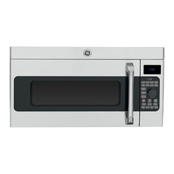 GE Cafe Series 1.7 Cu. Ft. Convection Over-the-Range Microwave Oven (model # CV -