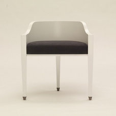 contemporary dining chairs by carolinageorge.com
