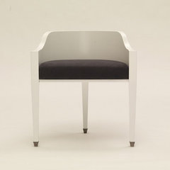 contemporary dining chairs and benches by carolinageorge.com
