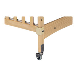 Foundations - Foundations Crib Saver Crib Bumpers with Antique Brass Hardware - Protect all your cribs, walls and other furnishings from damage. Antique brass for natural cribs.