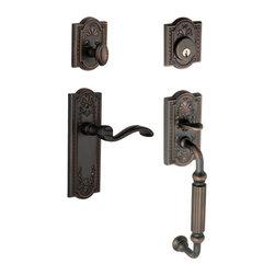 Grandeur | 825587 | Timeless Bronze | Door Hardware -