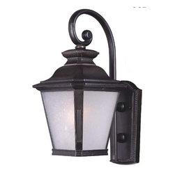 Maxim Lighting - Maxim Lighting 85625FSBZ Knoxville EE 1-Light Outdoor Wall Lantern - Maxim Lighting 85625FSBZ Knoxville EE 1-Light Outdoor Wall Lantern