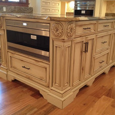 Mediterranean Kitchen Cabinets by Dixieworkshop Inc.