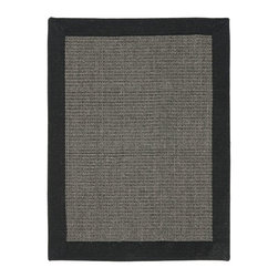 Safavieh - Contemporary Natural Fiber 9'x12' Rectangle Charcoal - Charcoal Area Rug - The Natural Fiber area rug Collection offers an affordable assortment of Contemporary stylings. Natural Fiber features a blend of natural Charcoal - Charcoal color. Machine Made of Sisal the Natural Fiber Collection is an intriguing compliment to any decor.