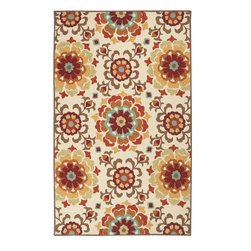 Surya - Surya Storm Rug X-3533-3077MOS - The bold botanical design of this rug is sure to be the focal piece in any room. In warm tones of parchment, burnt orange, cinnamon spice, burnt umber and chocolate brown, it will lend visual interest and comfort to your decor.