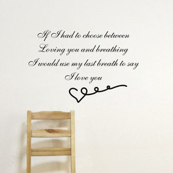 ColorfulHall Co., LTD - Family Wall Decals Romantic Sweet Quotes for Lover - Family Wall Decals Romantic Sweet Quotes for Lover