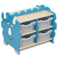 eclectic toy storage by Giosto