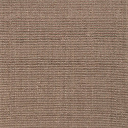 Jaipur Rugs - Naturals Solid Pattern Sisal Taupe/Tan Area Rug ( 3x5 ) - Woven 100% of natural sisal, these rugs are durable and latex backed.