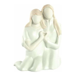 WL - Two Souls Figurine Displaying Pair of Intertwined Hands Forming Heart - This gorgeous Two Souls Figurine Displaying Pair of Intertwined Hands Forming Heart has the finest details and highest quality you will find anywhere! Two Souls Figurine Displaying Pair of Intertwined Hands Forming Heart is truly remarkable.