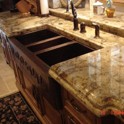Granite Countertops - Laminated Edge - Ogee + Round Over