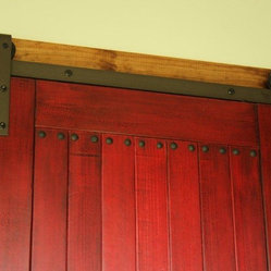 Sliding Barn Doors - These doors are our newly designed sliding barn doors. We designed, built ...
