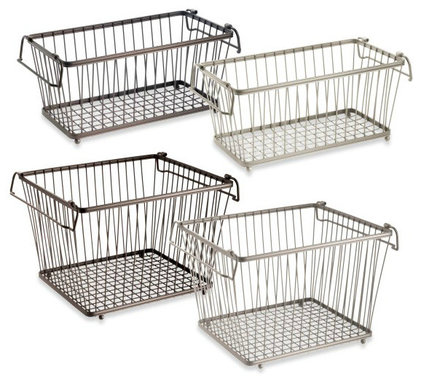 Contemporary Baskets by Bed Bath & Beyond