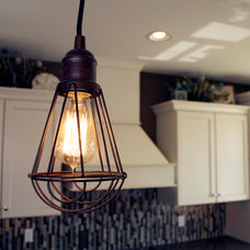 Traditional Kitchen Lighting And Cabinet Lighting by Aspen Homes Inc