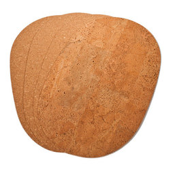 The Felt Store - Light Table Mat - Oval, 400 X 300 X 3mm - The Felt Store's Light Table Placemat - Oval adds an eco-friendly twist to your table! This product is truly versatile as it is reversible to display either the contemporary fine grain cork or turn it over for the exotic look of marble cork! This Cork Placemat is oval in shape and measures approximately 16 inches long, 12 inches wide and 0.10 inches thick. These Cork Placemats will bring natural and unique beauty to your table! This package contains 4 cork table mats. This product can be wiped clean with a damp cloth.