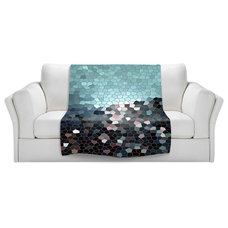Contemporary Throws by DiaNoche Designs
