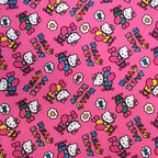 "SheetWorld - SheetWorld Fitted Oval Crib Sheet (Stokke Sleepi) - Hello Kitty Airplanes - This 100% cotton ""woven"" oval crib (stokke sleepi) sheet features the one and only Hello Kitty! Our sheets are made of the highest quality fabric that's measured at a 280 tc. That means these sheets are soft and durable. Sheets are made with deep pockets and are elasticized around the entire edge which prevents it from slipping off the mattress, thereby keeping your baby safe. These sheets are so durable that they will last all through your baby's growing years. We're called sheetworld because we produce the highest grade sheets on the market. Size: 26 x 47."