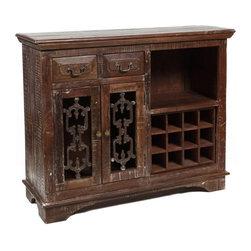 Classic Home Furniture - Cambria Storage / Wine Cabinet - 52001283 - SKU: 552001283