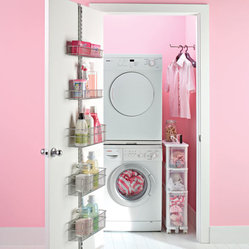 Platinum Elfa Laundry Door & Wall Rack Solution