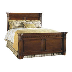 Durham Furniture - Durham Furniture Mount Vernon Queen Mansion Bed in Cunningham - Durham Furniture has been making solid wood furniture of the highest quality and enduring value since 1899. Our proud legacy of quality, integrity and dependability places us among North America&rsquos premier manufacturers of fine furniture.