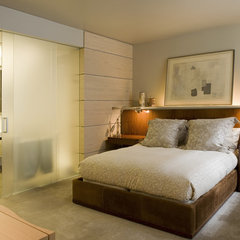 contemporary bedroom by Elliott Kaufman