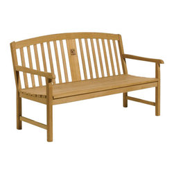 Oxford Garden - Signature Series 60 in. Bench - Customize this Signature Bench with a precision laser engraving of your logo, memorial or recognition text.  Beautifully designed for long lasting comfortable seating.