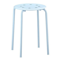 Ola Wihlborg - MARIUS Stool - Stool, light blue