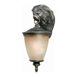 Triarch International - Triarch 75320-14 Lion Oil Rubbed Bronze Outdoor Wall Sconce - Triarch 75320-14 Lion Oil Rubbed Bronze Outdoor Wall Sconce