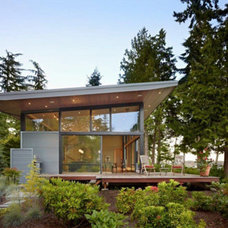 Architecture: Port Ludlow Residence Modern Waterfront House Design, Amazing Hous