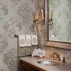 Traditional Bathroom by Thompson Custom Homes