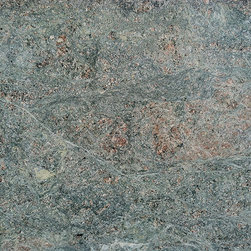 Costa Esmerelda Granite - Also spelled Costa Smerelda Granite, this beautiful granite is a translucent, pale green with rose accents.  It is quarried in the Middle East.