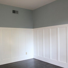 My Greenbrae Cottage: Family Room Board and Batten