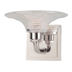 Hudson Valley Lighting - Hudson Valley Lighting 7181 Hamlin 1 Light Xenon Bathroom Fixture - Hudson Valley Lighting 7181 Hamlin 1 Light Xenon Bathroom FixtureThe transitional Hamlin Collection offers handsome wall sconces that are perfect for a renovation project.Hudson Valley Lighting 7181 Features: