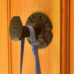 Railroad Hardware-RR Spike Hook Knob Hanger - Railroadware Distinctive Railroad inspired hardware