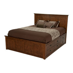 Oak Park Storage Bed
