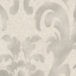 Romosa Wallcoverings - Gray / Dark Gray Damask Star Fade Wallpaper - This wallcovering features a floral like damask design pattern with a dreamy cloud effect. Select from four colors to compliment the style of your rooms, Star Fade is Ideal for industrial, traditional, eclectic, rustic styles.