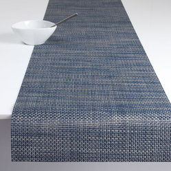 Chilewich - Chilewich Basket Weave Runner - What's old is new again. This handsome runner reinvents the ancient art of basket weave fabric into a contemporary classic for your table. And since it takes no time to clean, a progression of impromptu, family-style dinners in your future can be easily foretold.
